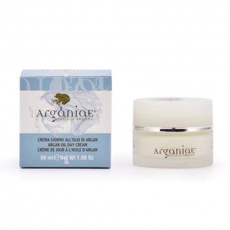 Crema Viso Giorno all'olio di Argan - Arganiae