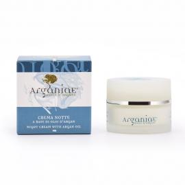 Crema viso notte con olio di Argan - Arganiae