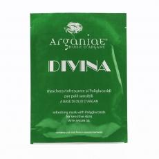 Erfrischende Tuchmaske mit Polyglukosiden DIVINA