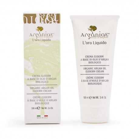 Euderm crema per massaggi all'olio di Argan - Arganiae
