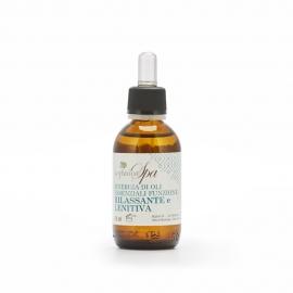 Synergie ätherischer Öle mit entspannender und lindernder Funktion