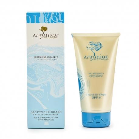 Low Protection SPF6 Sun Cream - Arganiae