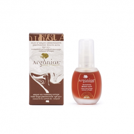 Very High Protection SPF50+  Tanning Oil