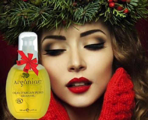un pensiero per Natale, con olio d'argan