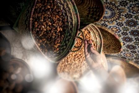 i semi di argan sono ricchi di attivi naturali quali vitamine, acido linoleico, acidi grassi, Omega 3 e 6