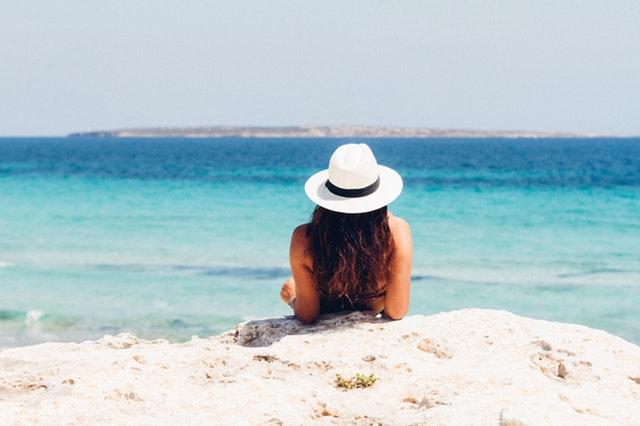 Abbronzatura in spiaggia