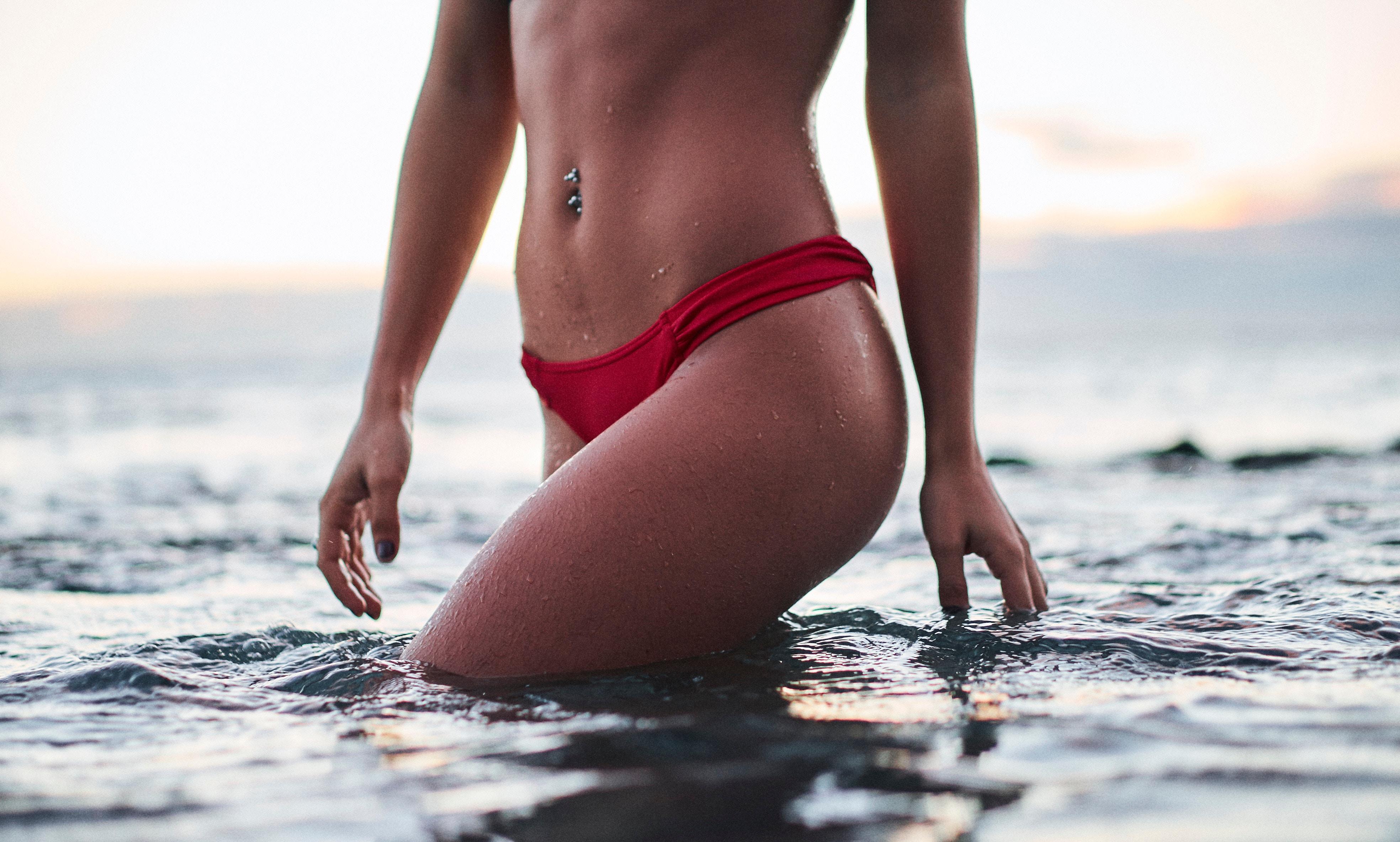 Ragazza in bikini - trattamento anticellulite Arganiae