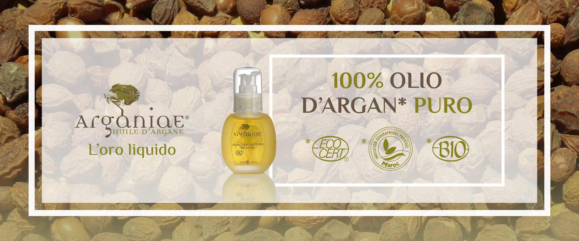 L'Olio di argan di Arganiae